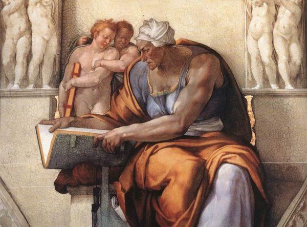Michelangelo Buonarroti - La Sibilla Cumana