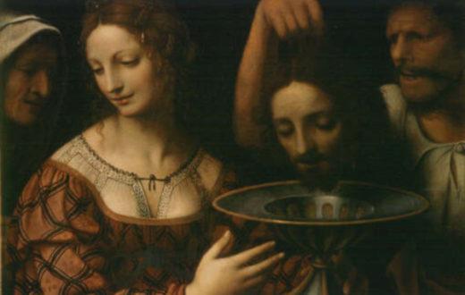Salomè con la testa di San Giovanni Battista - Bernardino Luini