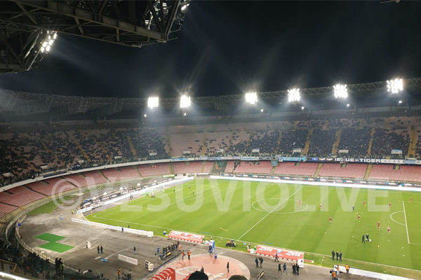 GdS - Napoli-Zurigo, San Paolo vuoto anche in Europa League