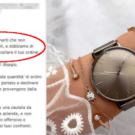 azienda tedesca orologi non spedisce a napoli