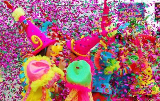 coriandoli Carnevale