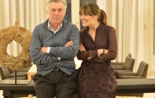 Katia Ancelotti e papà Carlo