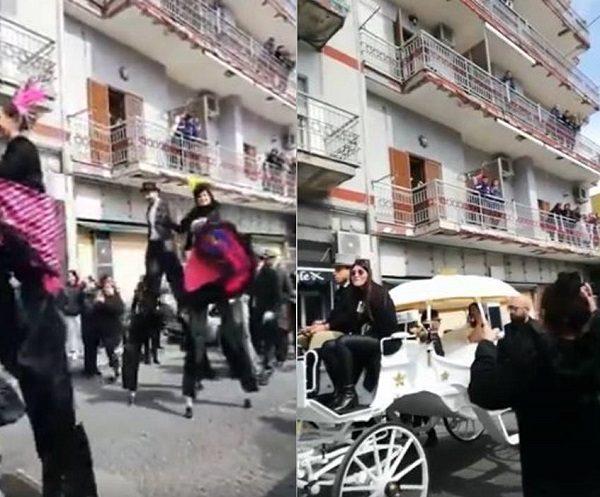Tony Colombo sposa la vedova del boss: arriva la polizia municipale