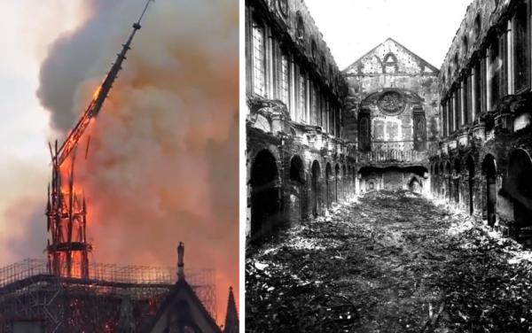 Notre Dame Come Santa Chiara Un Incendio Di 2 Giorni
