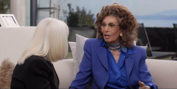 A raccontare comincia tu 11 aprile 2019: Raffaella Carrà intervista Sophia Loren