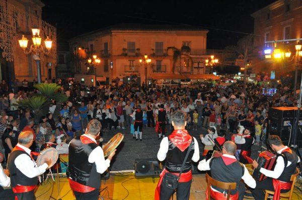 Sagra del Casatiello - Sant'Arpino - palco