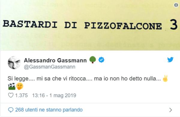 Alessandro Gassman si scaglia contro il Comune di Roma