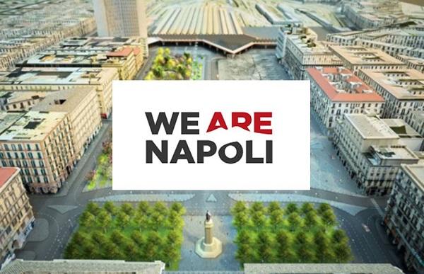 """Nasce """"We Are Napoli"""", il city Brand della città di Napoli"""