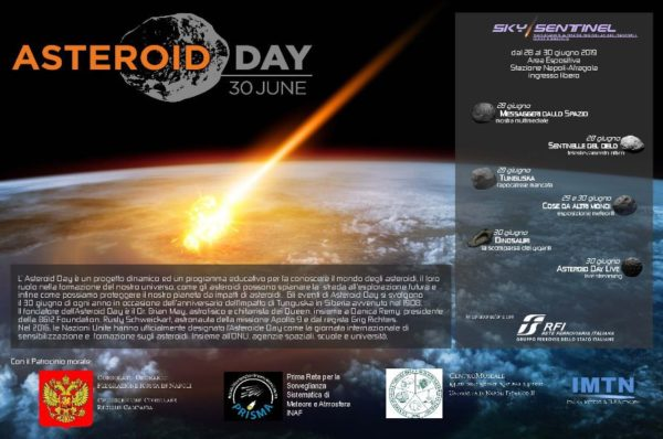 ASTEROID DAY 2019 NAPOLI