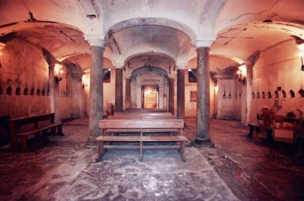 catacombe San Pietro ad Aram
