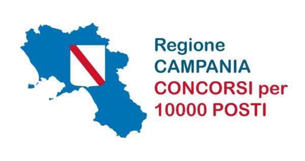 maxi concorso regione campania 10mila posti di lavoro