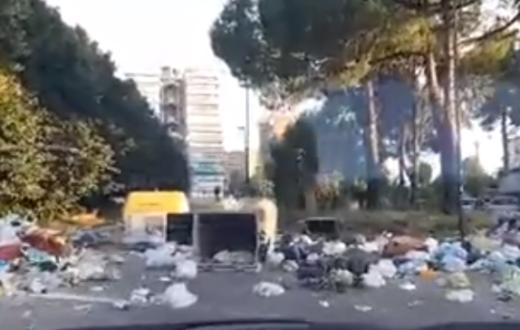 scampia spazzatura