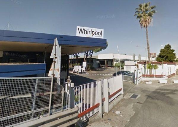 Chiusura Whirlpool ufficializzata