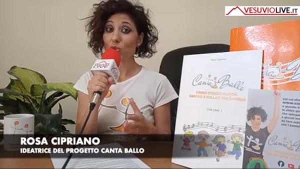 Rosa Cipriano, ideatrice di Cantaballo