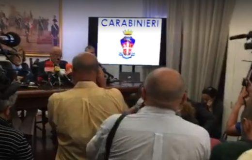 conferenza stampa carabinieri mario cerciello rega