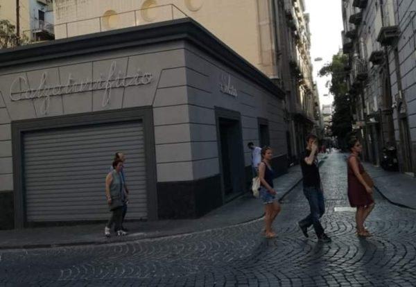 l'amica geniale- negozio Solara piazza dei martiri