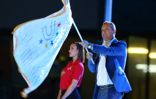 luigi de magistris universiadi napoli 2019