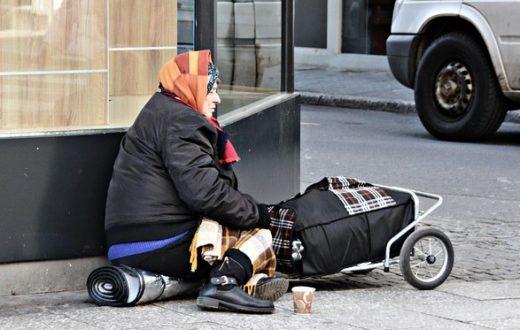 povertà rom zingara