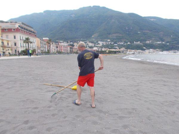 pulizia spiaggia castellammare 2