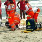 soccorsi malore spiaggia