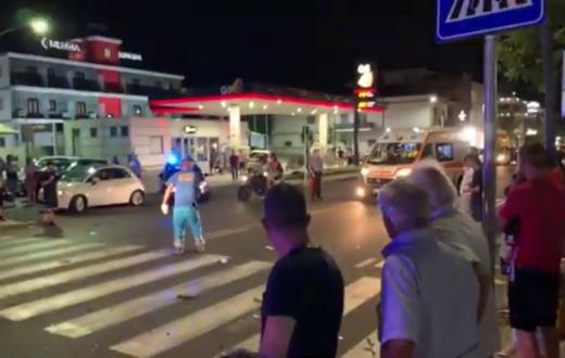 incidente caserta
