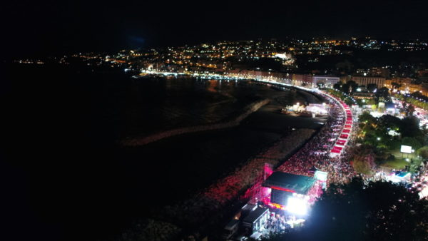 Napoli pizza village palco drone
