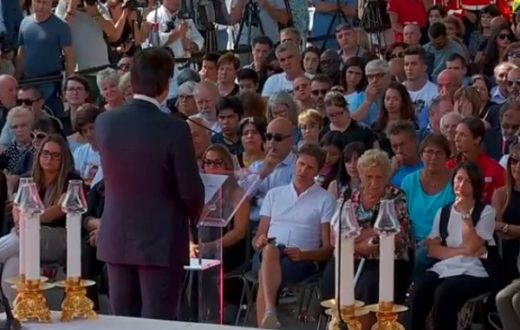 commemorazione vittime crollo ponte Morandi