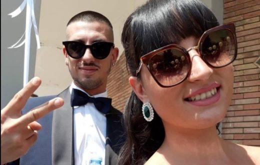 coppia investita Castellammare