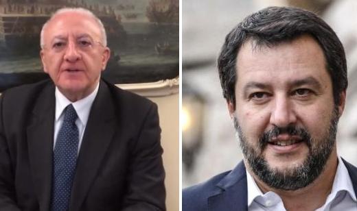 Matteo Salvini De Luca