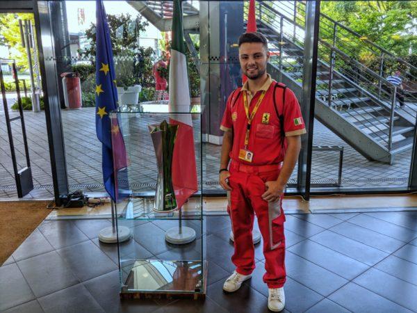 Filippo al Museo della Ferrari 2