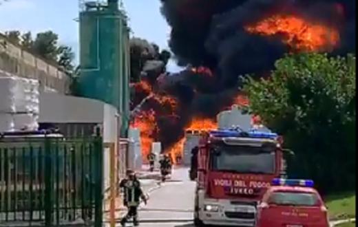 incendio Avellino