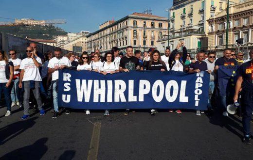 protesta a napoli whirlpool