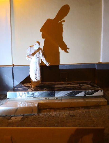 statua sant'alfonso pagani