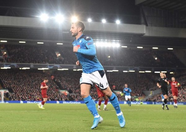 dries mertens liverpool napoli