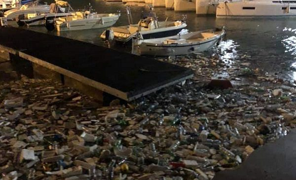 Salerno mareggiata