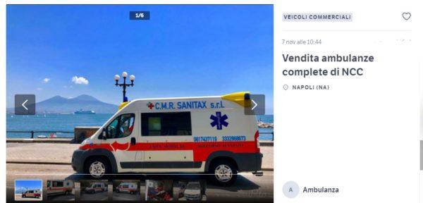 vendita ambulanze