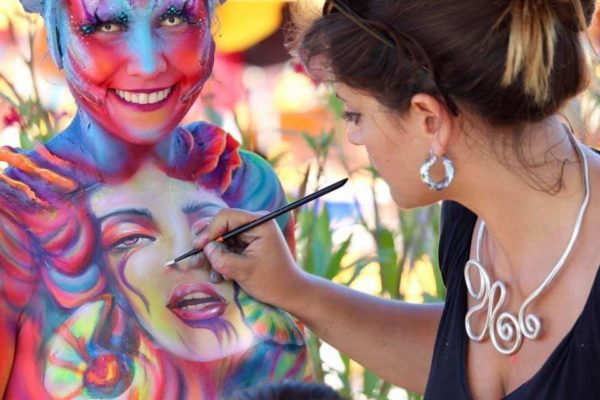 Arte a Palazzo body painting