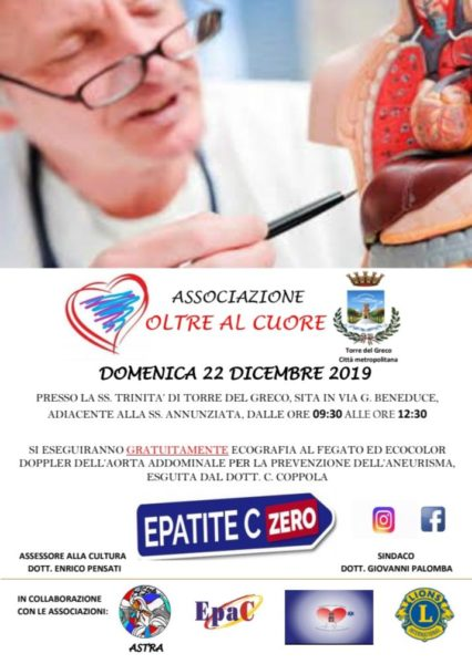 Visite gratuite Epatite C