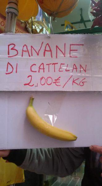 Banana cattelan 2