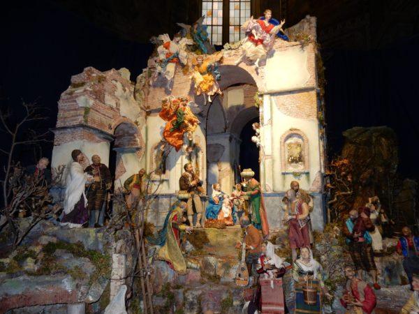 mostra di arte presepiale Napoli