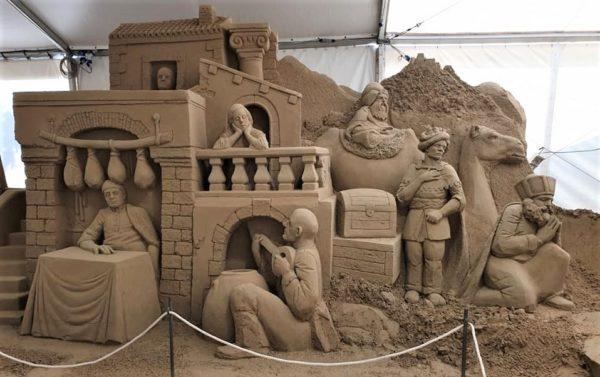 presepi di sabbia