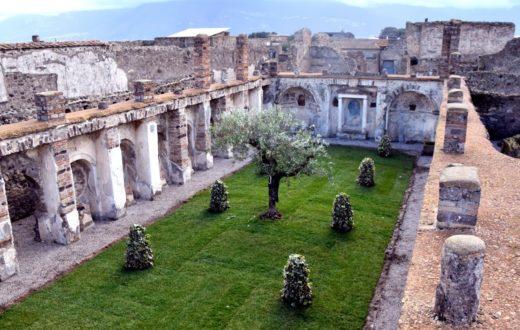 natale agli scavi di pompei