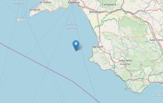 terremoto golfo di salerno