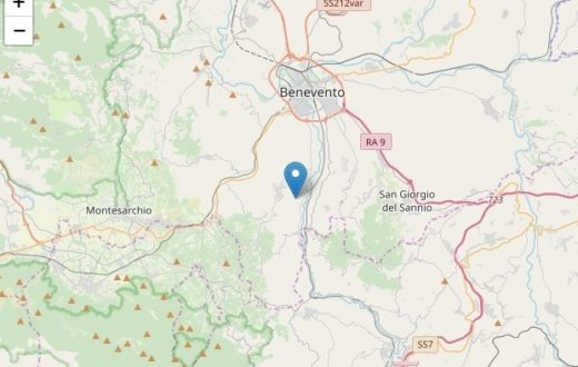 terremoto sannio benevento 17 dicembre 2019