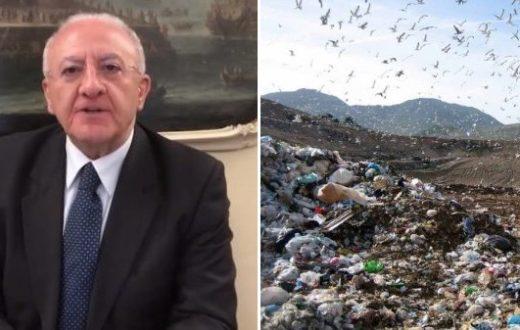 vincenzo de luca gestione rifiuti