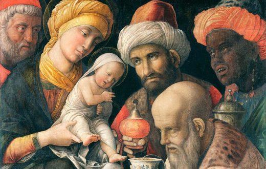 L'adorazione dei Magi - Andrea Mantegna