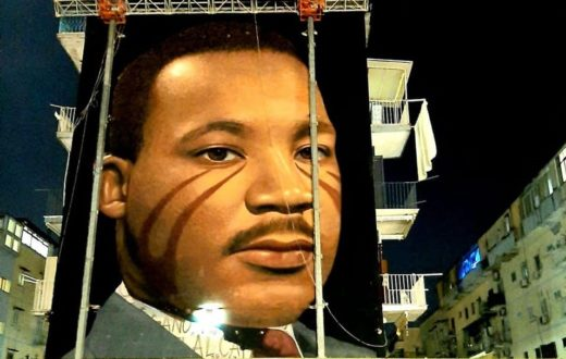Martin Luther King murale Jorit