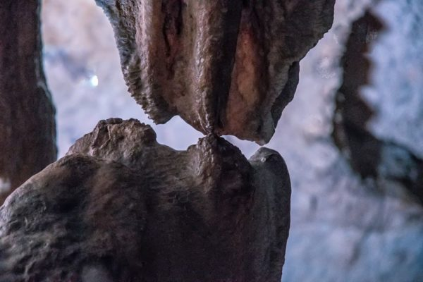 bacio stalattite stalagmite grotte pertosa auletta