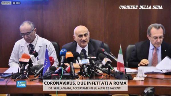 coronavirus bollettino medico spallanzani