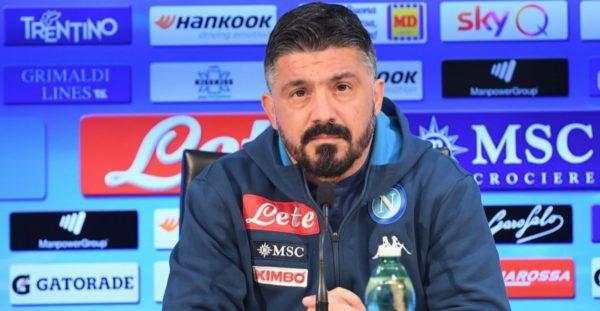 Benevento - Napoli 1-2, Gattuso: